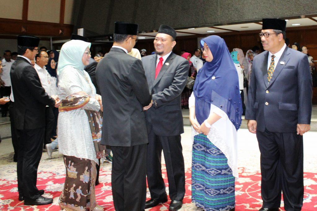 Gubernur DKI Lantik Wakil Kepala Badan Pajak dan Retribusi Daerah