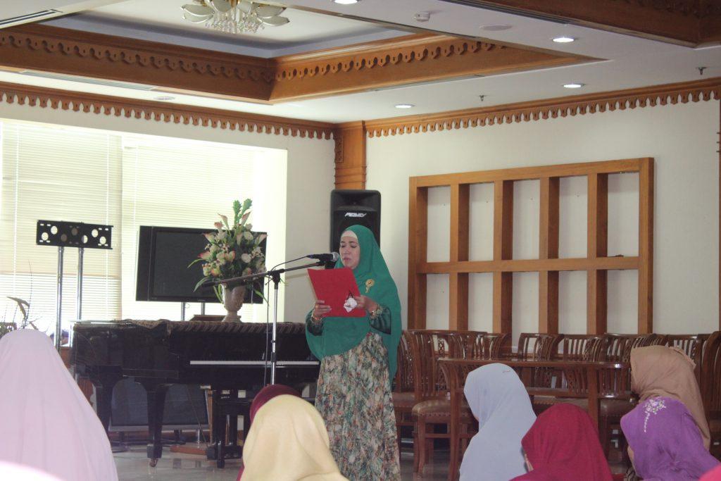 Pengajian Bulanan DWP BPRD DKI Jakarta Bulan Februari 2018