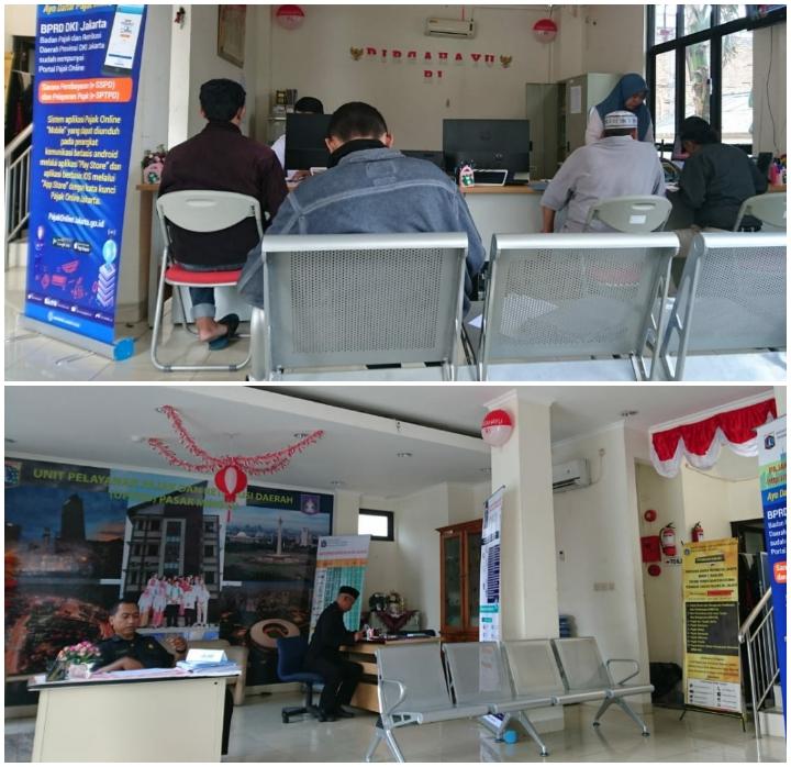 Pelayanan Pajak Daerah di Unit Pelayanan Pajak dan Retribusi Daerah Pasar Minggu