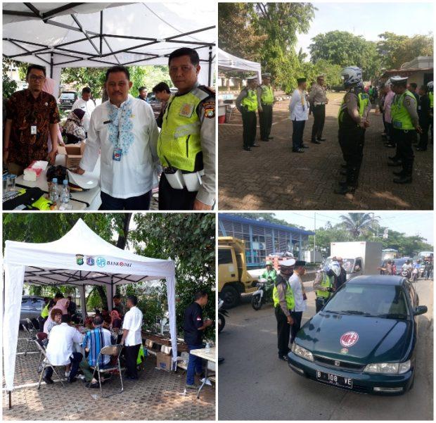 Razia Kendaraan Samsat Jakarta Barat Hari Ketiga Menambah 70 Juta Rupiah Pajak Kendaraan