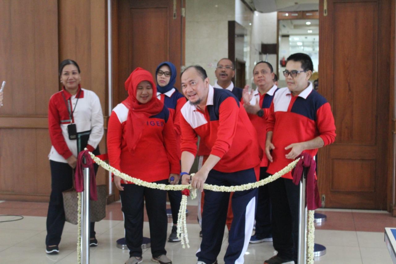 Peresmian Sarana Olahraga di BPRD