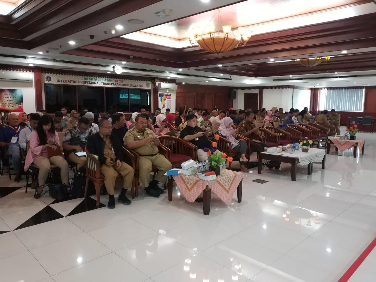 Sosialisasi Peraturan Pajak Daerah di Jakarta Selatan