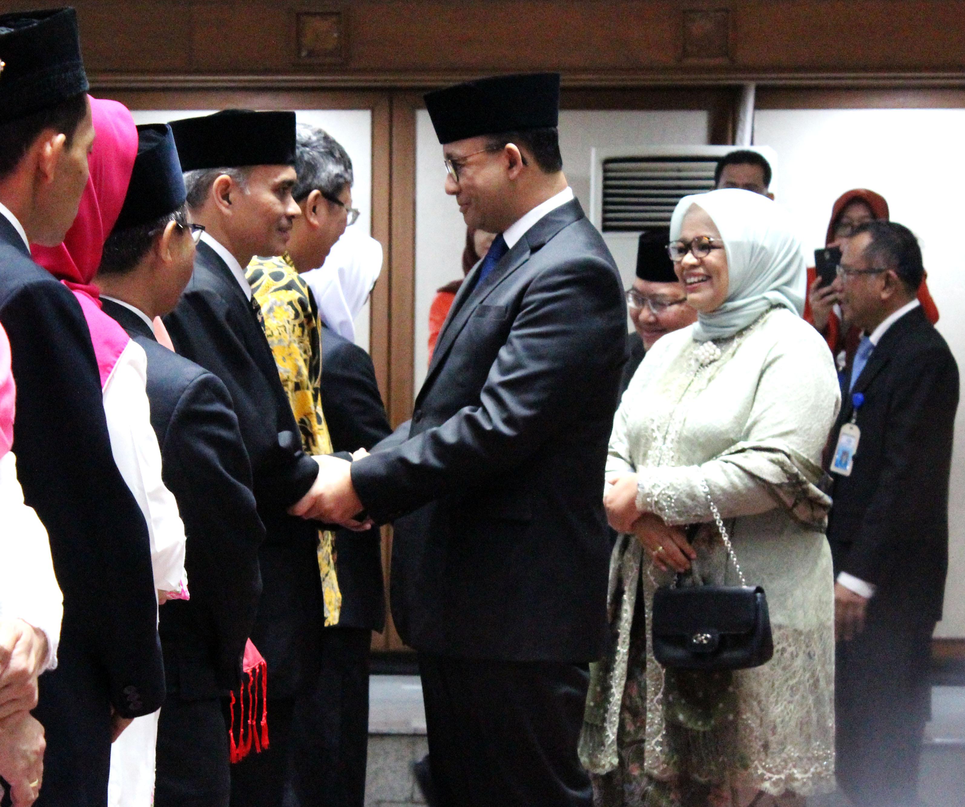 Gubernur Anies Baswedan Lantik Wakil BPRD Jakarta