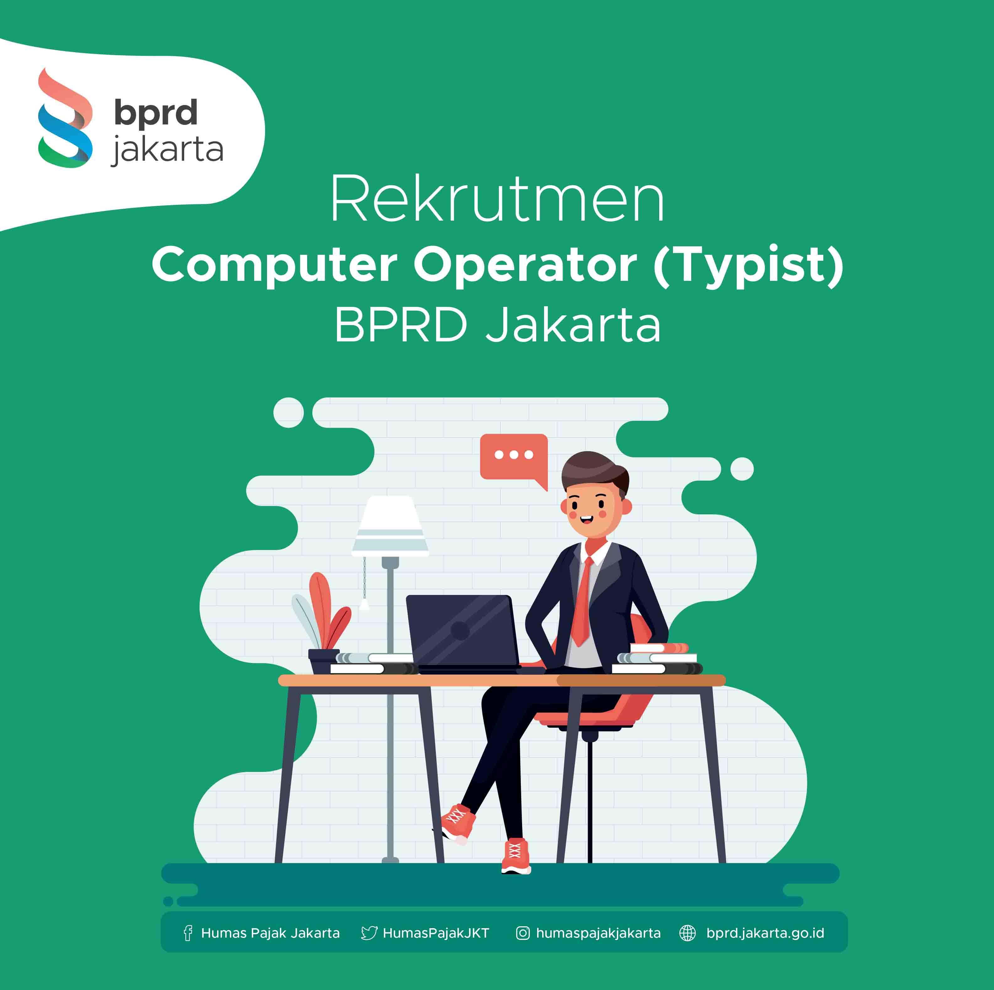 Rekrutmen Jasa Lainnya Tenaga Administrasi Bidang Perencanaan dan Pengembangan BPRD Jakarta