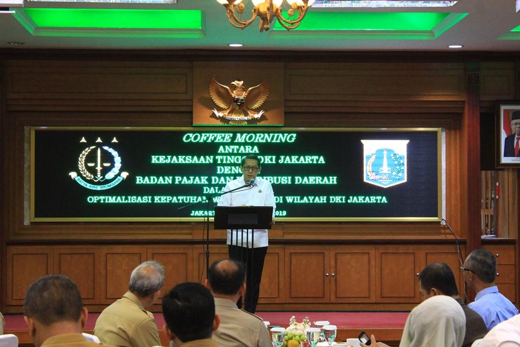 Coffee Morning Kejati DKI Jakarta dan BPRD Jakarta