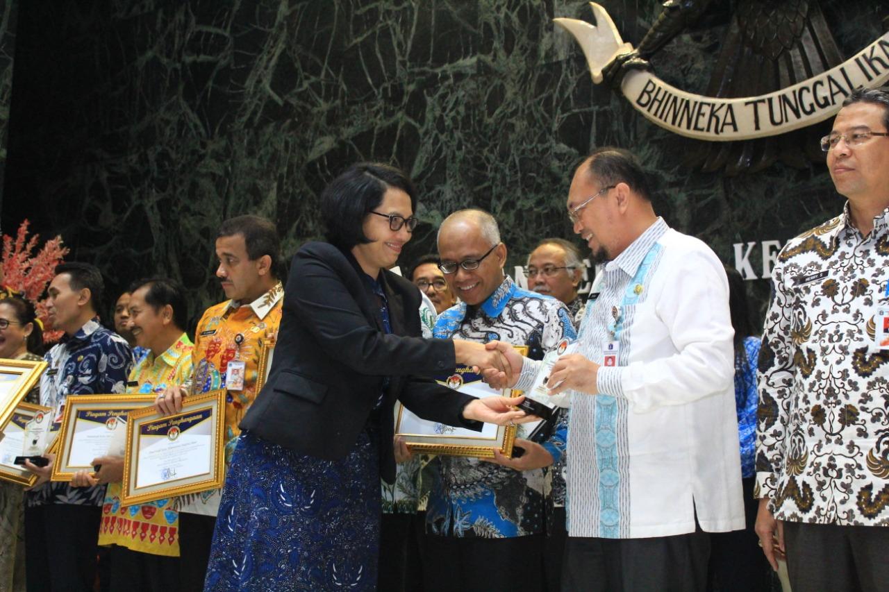 Keterbukaan Informasi, BPRD Jakarta Raih Juara II Tingkat Badan