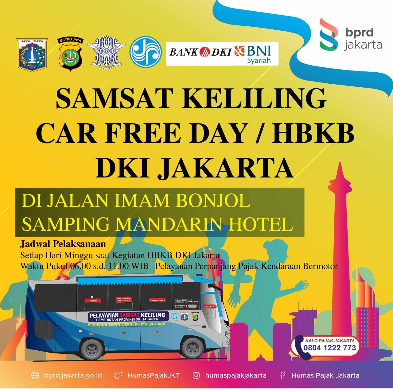 Kini, Samling CFD Jakarta di samping Hotel Mandarin