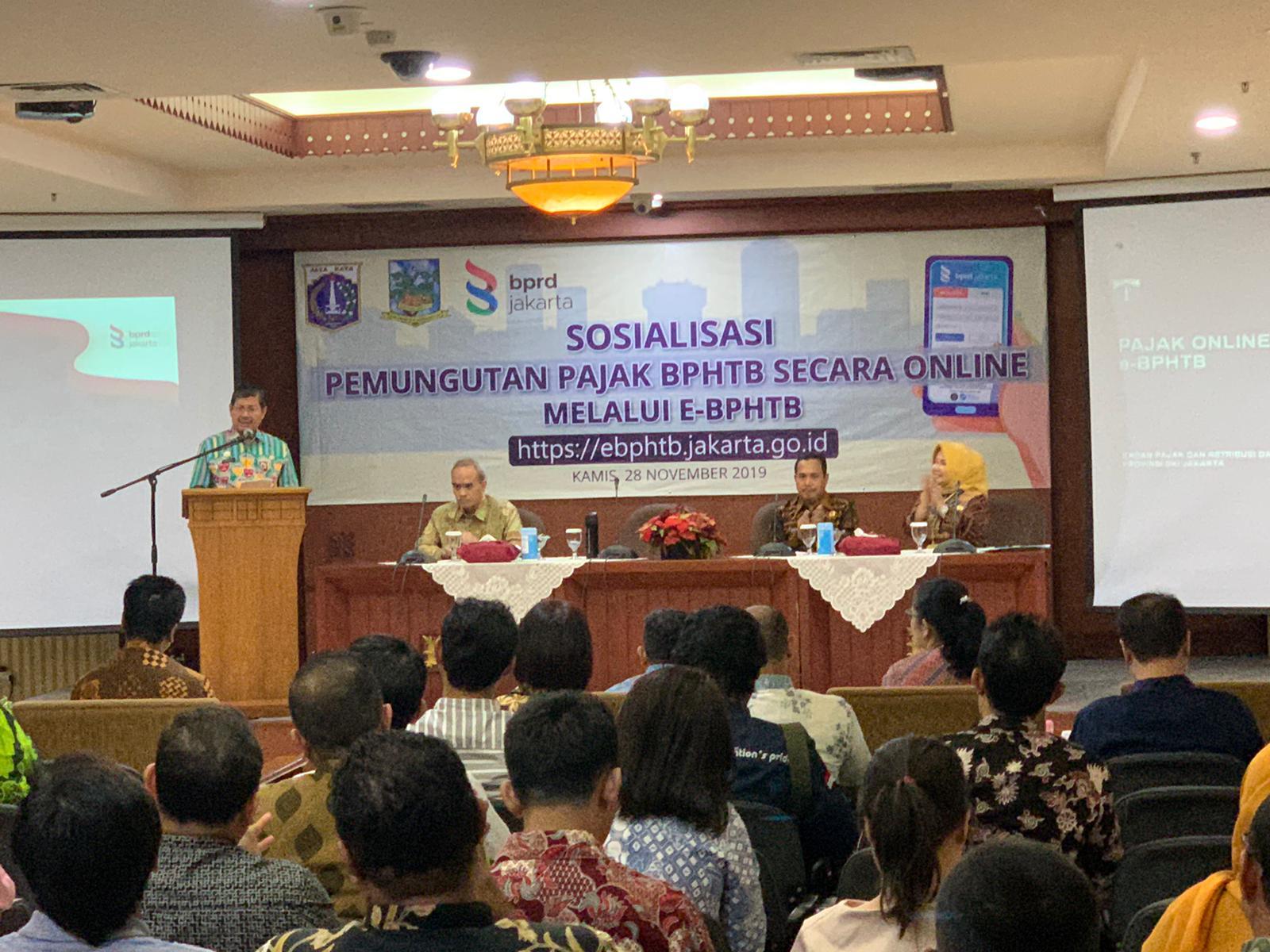 DKI Jakarta Luncurkan e-BPHTB