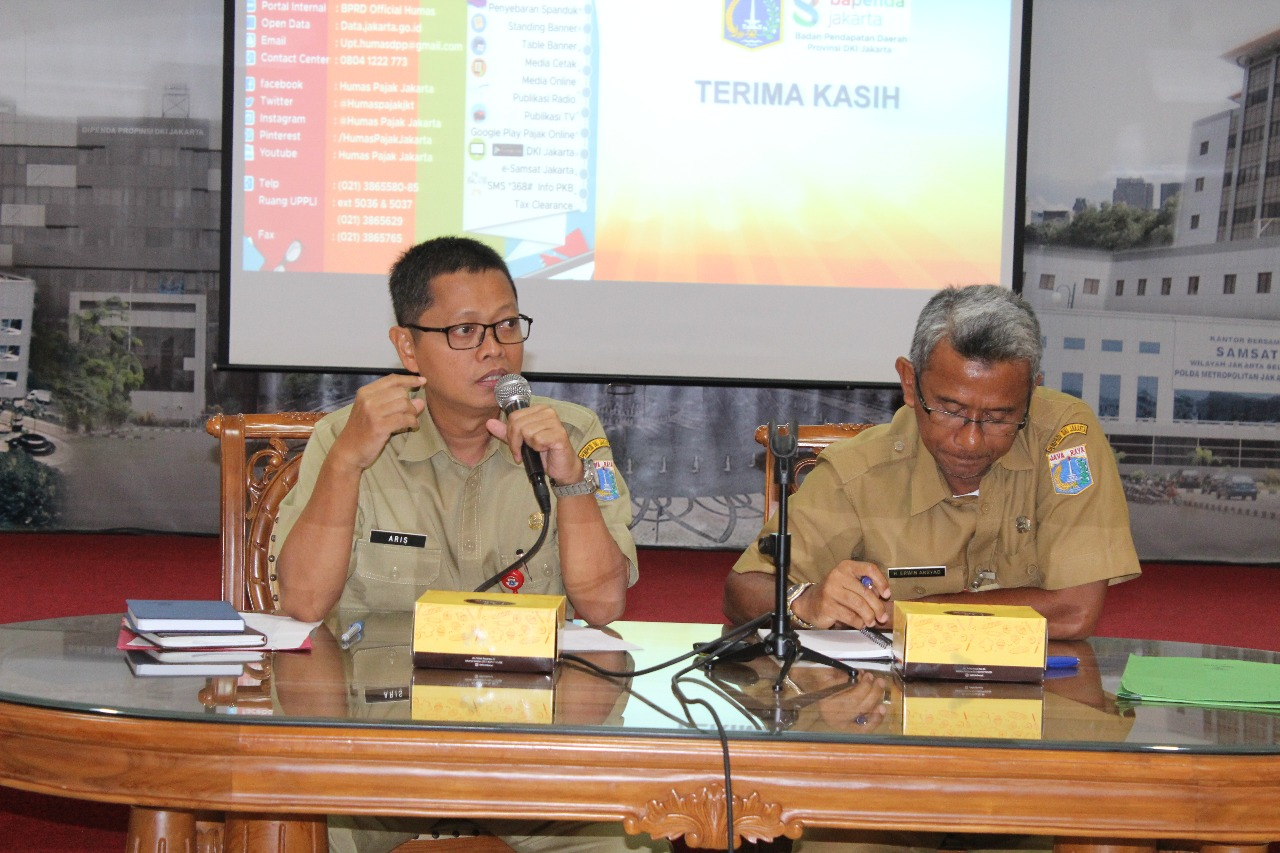 Bapenda Jakarta Sosialisasikan Pelaporan Data Transaksi Usaha WP Secara Elektronik
