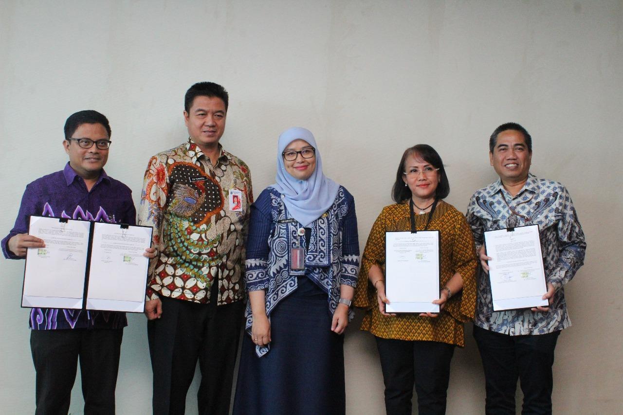 Penandatanganan Perjanjian Kerja Sama Pemprov DKI Jakarta Dengan Tiga Bank Pemerintah Untuk Penerapan Pelaporan Pajak Online