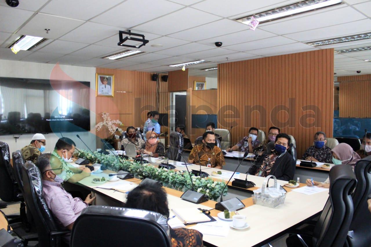 Koordinasi Pembahasan Manajemen Pengelolaan Data Pajak Daerah