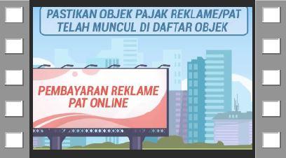 Pembayaran Pajak Reklame dan Pajak Air Tanah Secara Online