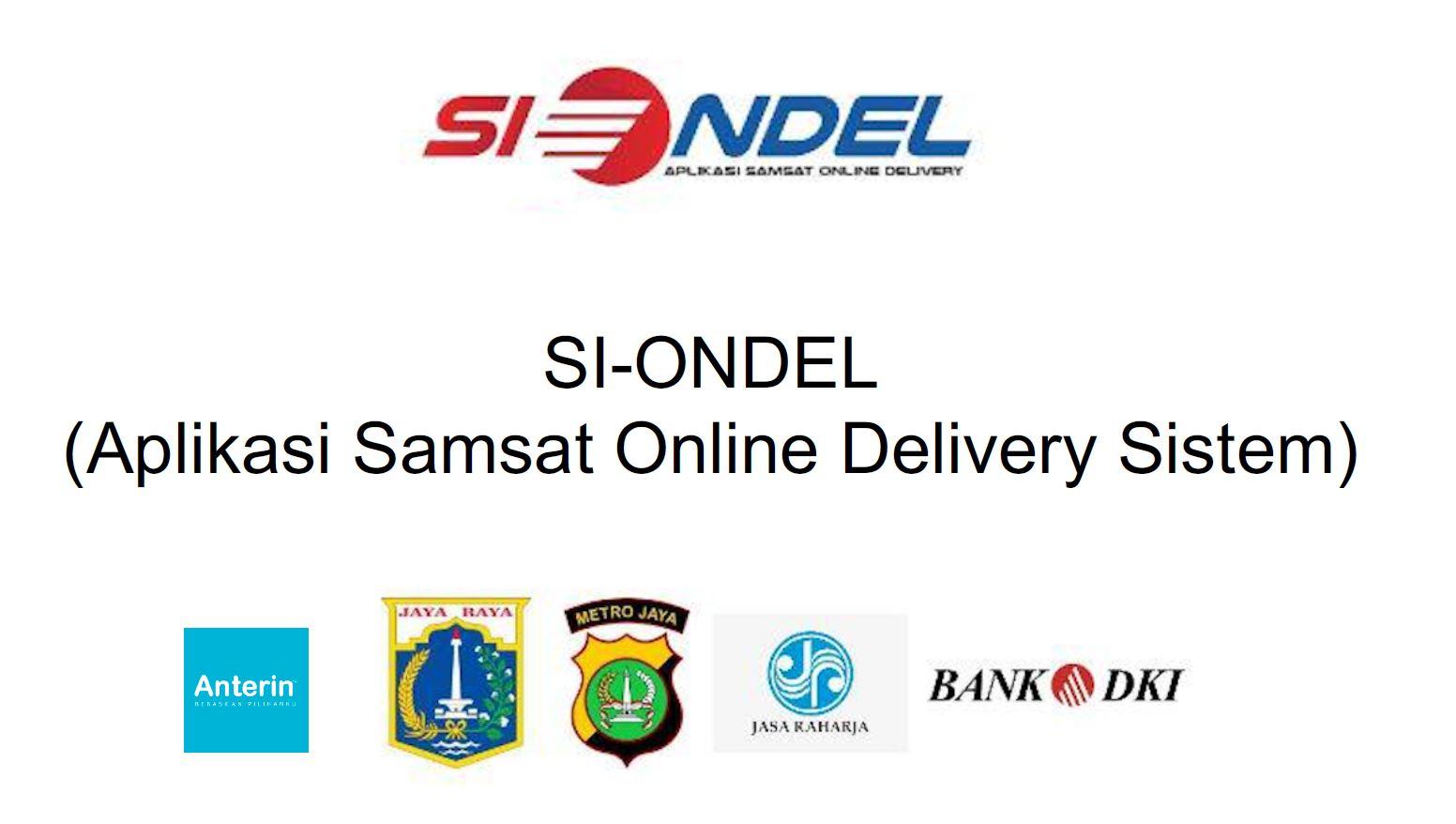 SI-ONDEL (SAMSAT ONLINE DELIVERY)