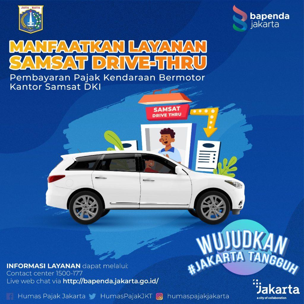 Pelayanan Samsat Drive Thru Provinsi DKI Jakarta